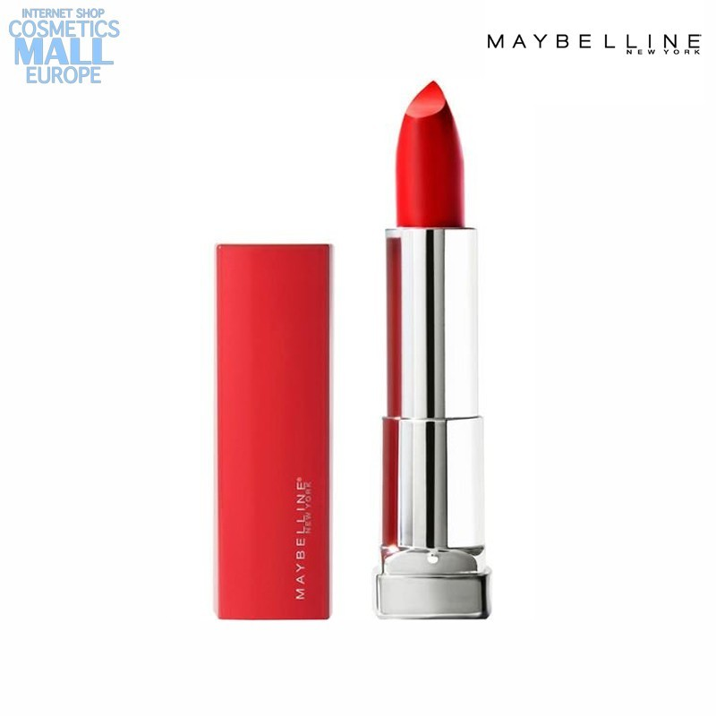Червило Maybelline цвят 382 Red for Me | Maybelline Color Sensational Made for All
