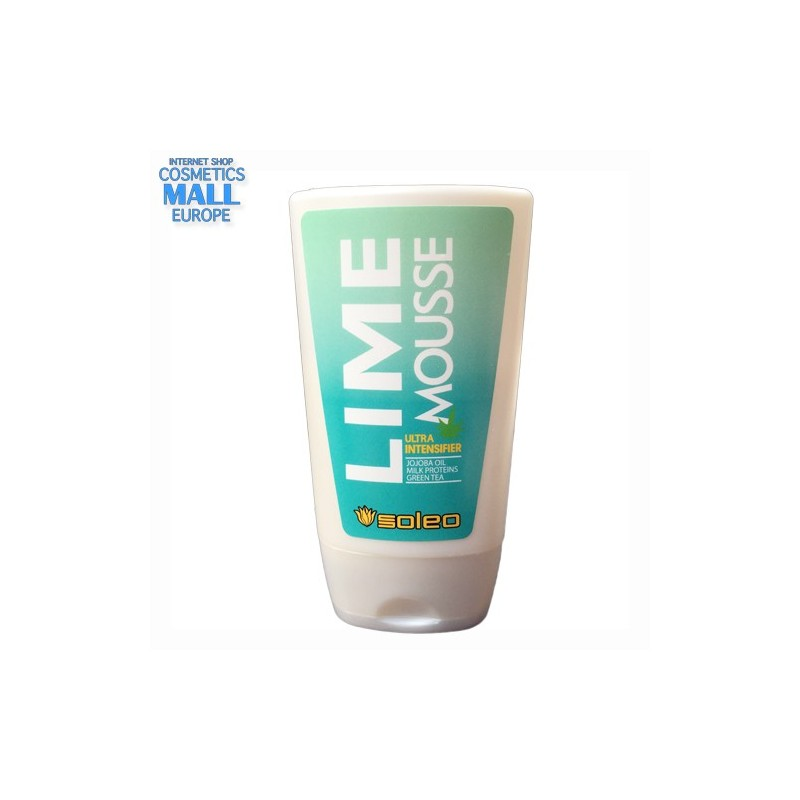 Lime Mousse | Soleo Deeply caring tanning intensifier