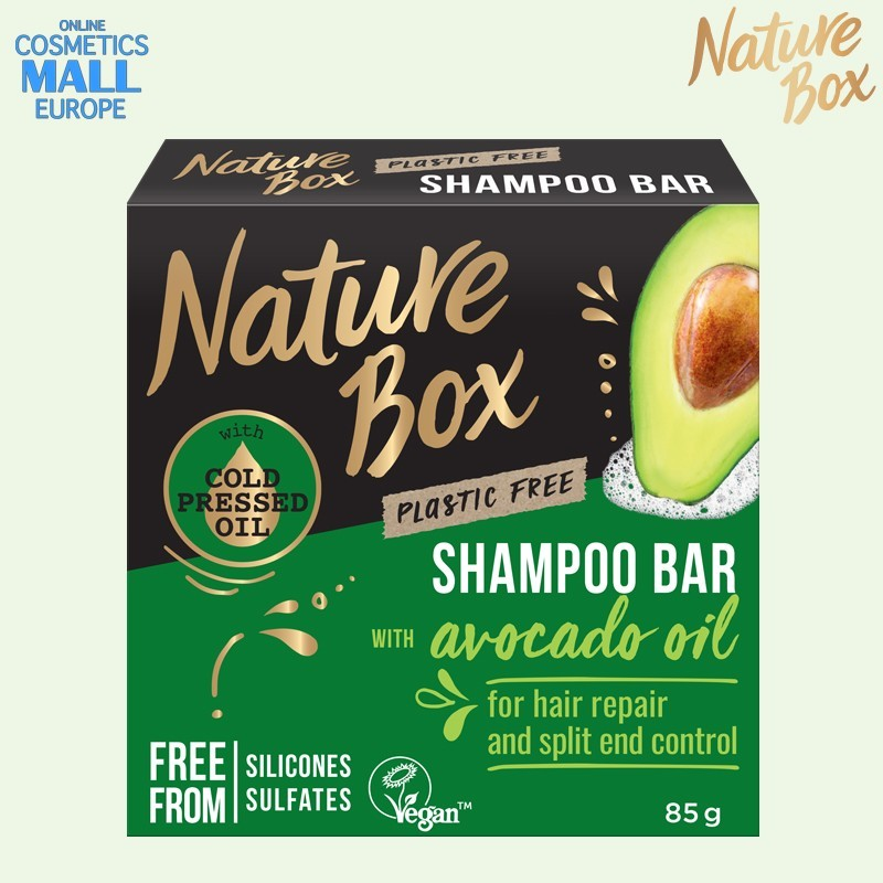 Split and Control Repair shampoo bar Nature Box Avocado