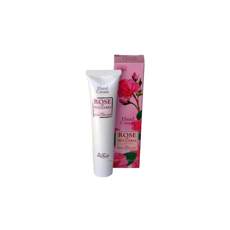 Nourishing hand cream Rose of Bulgaria | Biofresh