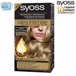 8-05 Beige Blond, Hair Color Dye SYOSS Oleo Intense
