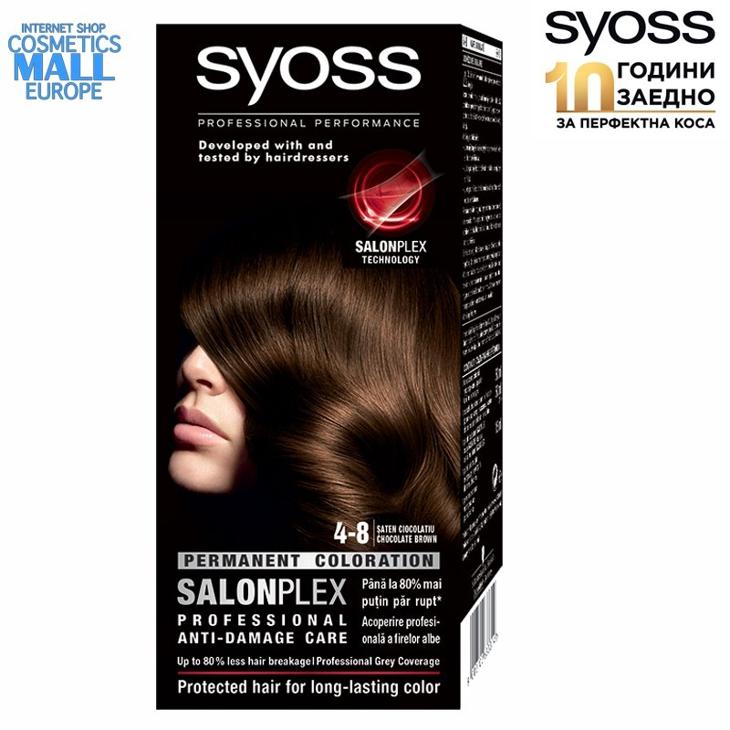 4-8 Chocolate Brown, SYOSS Color