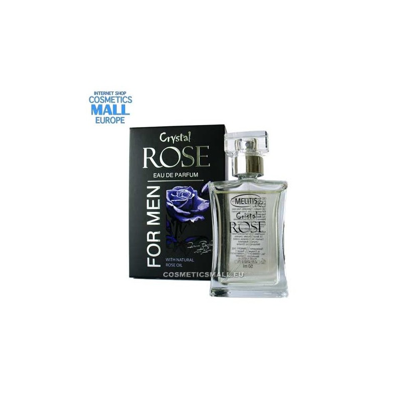 Eau de Perfume Crystal Rose for Men | Melitis